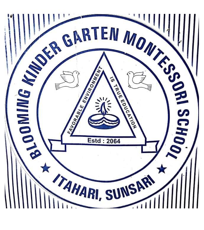 Blooming Kindergarten Montessori School logo